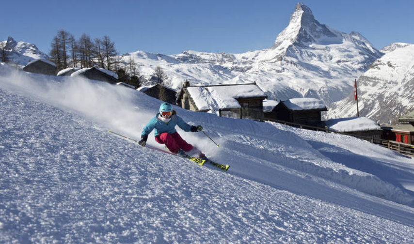 Zermatt as one of the best ski resorts in Europe