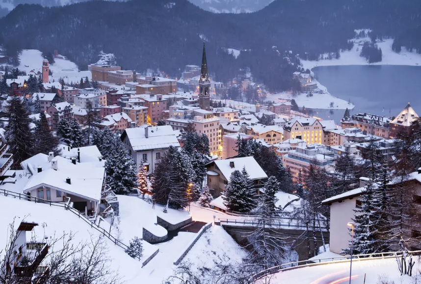 St. Moritz as one of the best ski resorts in Switzerland