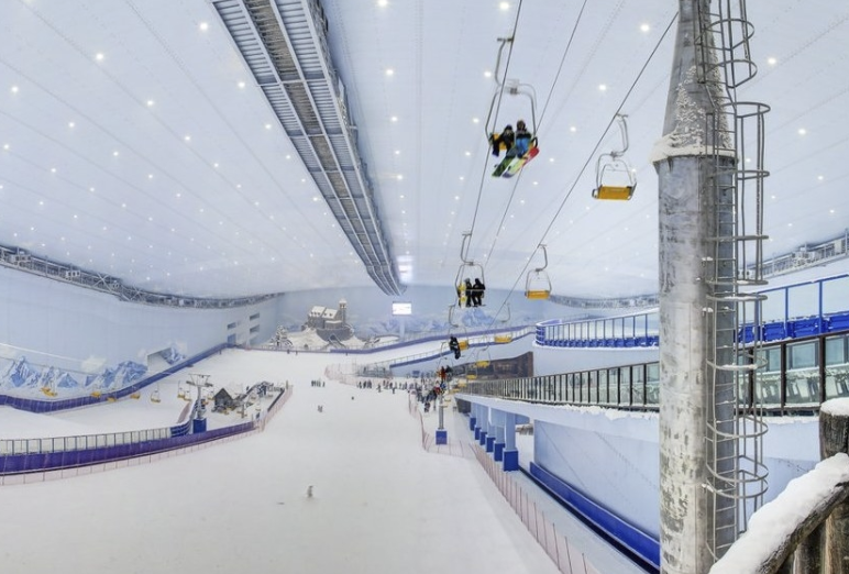 The most impressive indoor ski resorts in the world (Part 1)