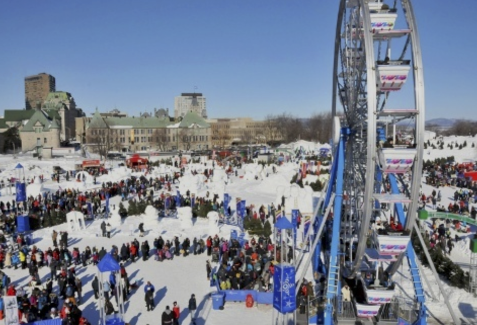 The biggest ice and snow festivals in the world nowadays